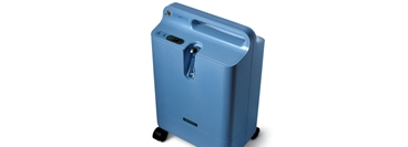 Oxygen concentrator EverFlo with white background