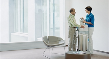 Mobile oxygen solutions improve quality of life for patients suffering from respiratory conditions. We are strongly committed to general welfare here, providing free support for respiratory patients facing hardship, for example.